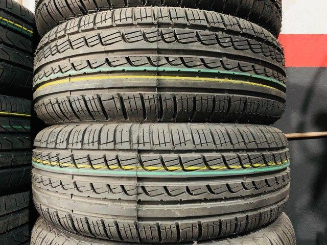 02 pneus tekys tyres 195/55/16 (instalação grátis)