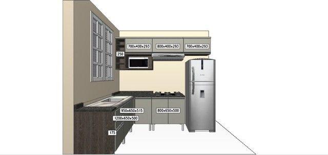 Cozinha Modulado