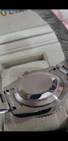 Relógio Rolex GMT Master II Automático Fundo Branco a prova d'água - Foto 4