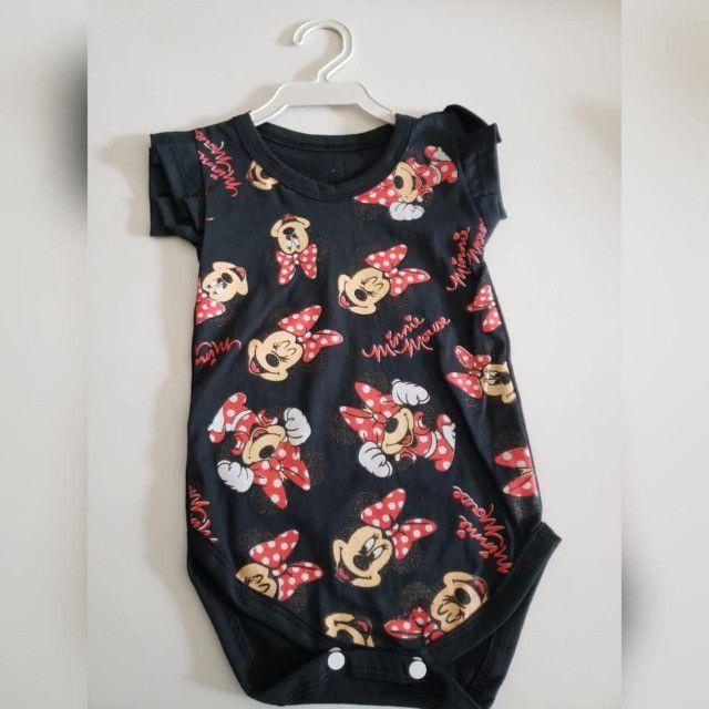 Bodys personalizados Infantis de Algodão com Elastano! - Foto 6