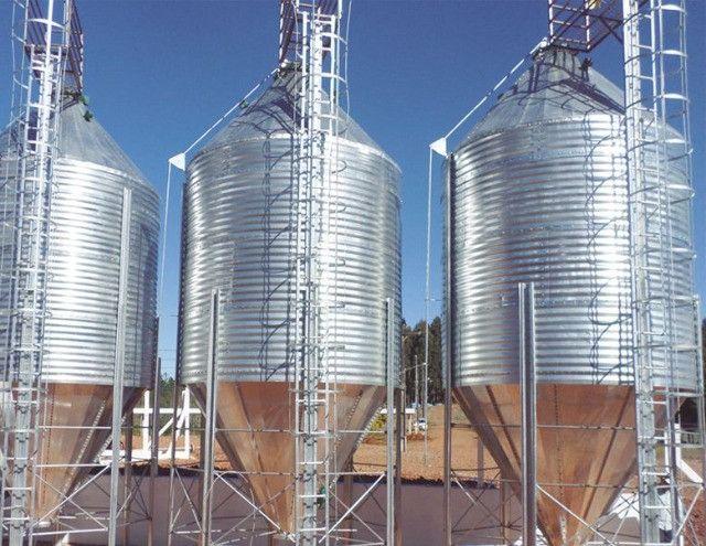 Vendo silos de armazenagem