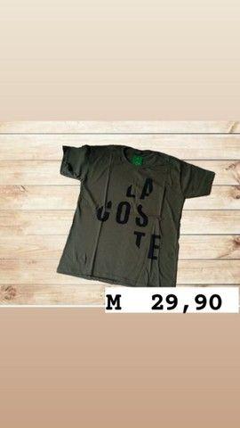 Camisetas masculinas  tamanho M - Foto 3