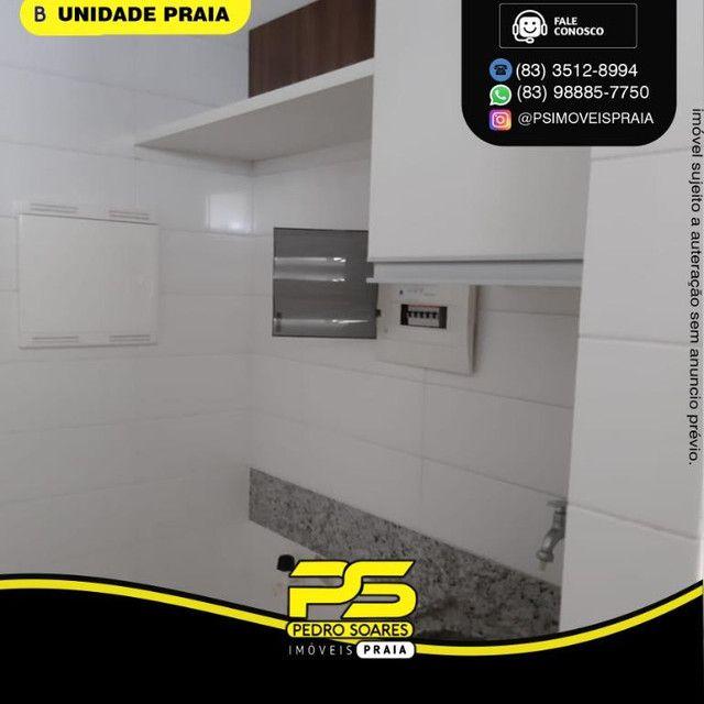 Apartamento com 3 dormitórios para alugar, 78 m² por R$ 3.500,00/mês - Tambaú - João Pesso - Foto 11