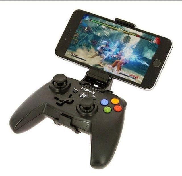 Controle Joystick Con-142b Celular e TV Android - Foto 4