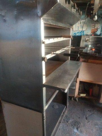 Churrasqueira a Gaz automática Scavone Raridade - Foto 4