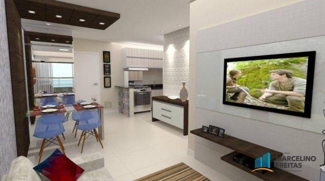 Apartamento residencial à venda, Cumbuco, Caucaia - AP3357.