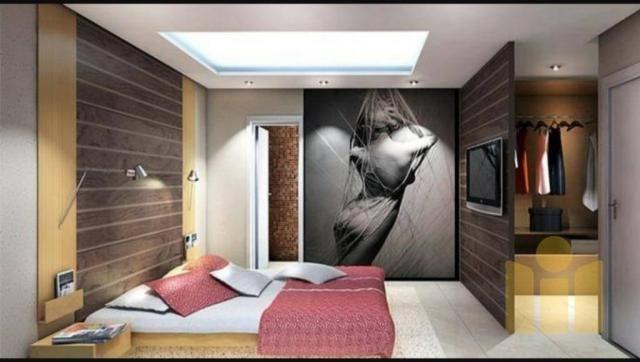 Apartamento com 3 dormitórios à venda, 101 m² por r$ 610.000 - farol - maceió/al - Foto 8