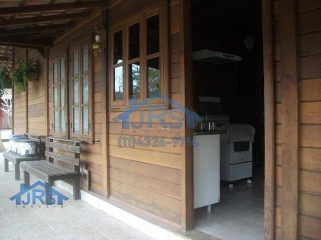 Chácara com 3 dormitórios para alugar, 3264 m² por r$ 5.800/mês - suru - santana de parnaí - Foto 2