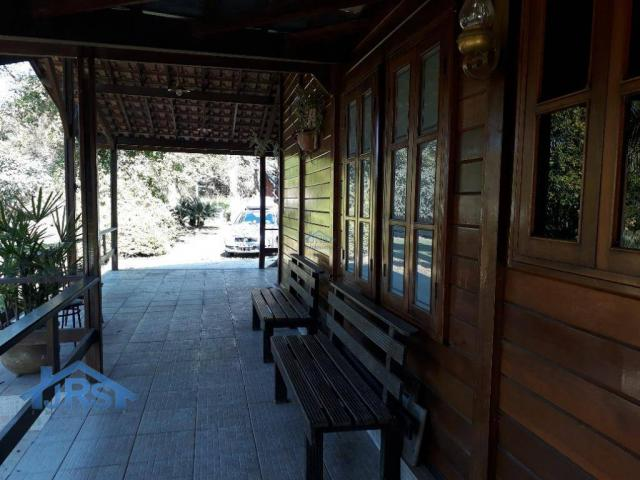 Chácara com 3 dormitórios para alugar, 3264 m² por r$ 5.800/mês - suru - santana de parnaí - Foto 13