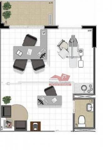Sala para aluguel, 38 m² por R$ 1.500,00 - Ipiranga - São Paulo/SP - Foto 2