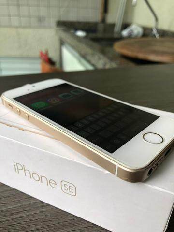 IPhone SE 64gb, troco/parcelo - Foto 2