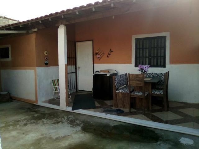 Casa quarto amplo sala cozinha americana banheiro área se serviço terreno - Foto 2