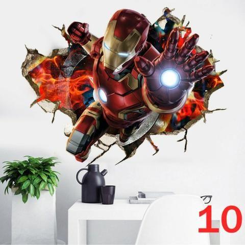 Adesivo Grande Vingadores Marvel! - Foto 3