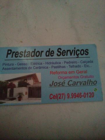 Móveis,serviços em gerl