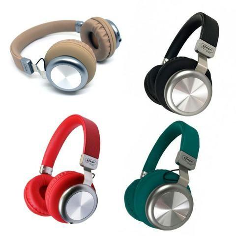 Fone de Ouvido Bluetooth 5.0 KP-452 Knup Com Microfone Rádio FM Micro SD MP3 Recarregável - Foto 5