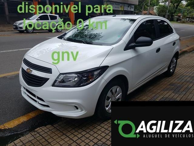 Aluguel de veículos, carros com gnv