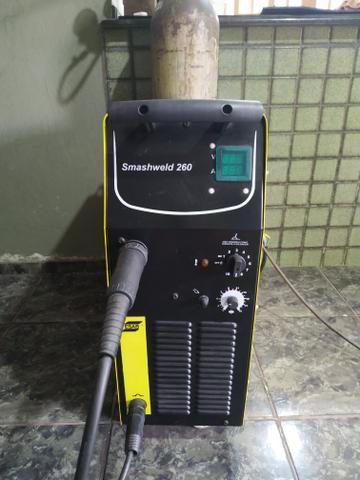 Máquina de solda ESAB Smashweld 260 MIG/Mag