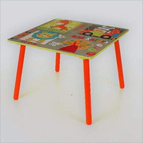 Conjunto Infantil Kit 1 Mesa E 2 Cadeiras Em Mdf-import - Foto 2