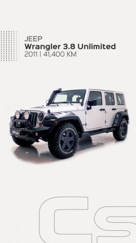 JEEP WRANGLER 2011/2011 3.8 UNLIMITED SAHARA 4X4 V6 12V GASOLINA 4P AUTOMÁTICO - Foto 9