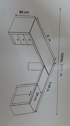 """Mesa em """"L"""" - Foto 2"""