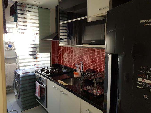 Apartamento com acabamento refinado na Freguesia (condomínio Be Happy)