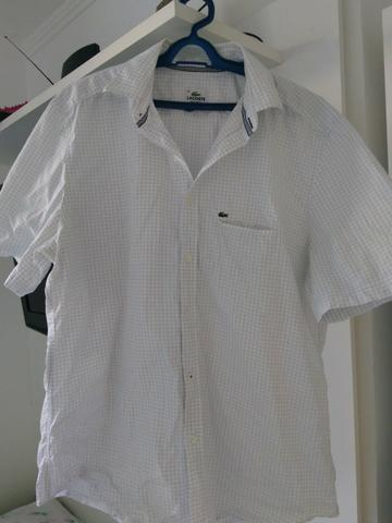 dfd4b199c5771 Camisa social Lacoste - Original - Roupas e calçados - Tomba