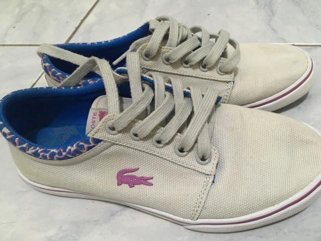 0222cbc375624 Tênis lacoste original - Roupas e calçados - Adrianópolis
