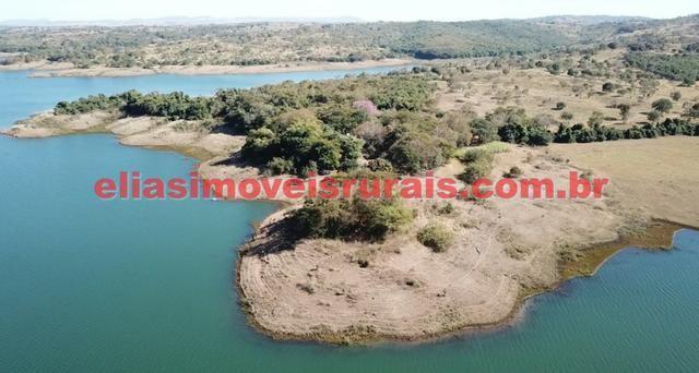 Fazenda margens represa Furnas - Corumbaíba GO