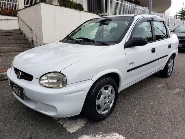 Chevrolet classic 1.0 completo vendo troco e financio R$ 18.900,00 - Foto 12