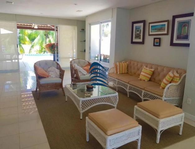 Casa de alto padrão com acesso a praia no condomínio Porto Busca Vida - Foto 13