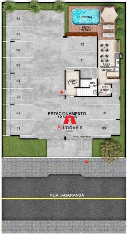 Apartamento residencial à venda, Loteamento Novo Horizonte, Rio Branco. - Foto 8