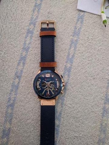 Relógio CURREN ORIGINAL Modelo 8329, lançamento 2019.