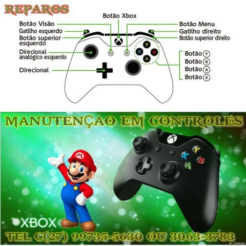 Assistencia Tecnica Especializada em manutenção de controle de video Games em geral - Foto 2