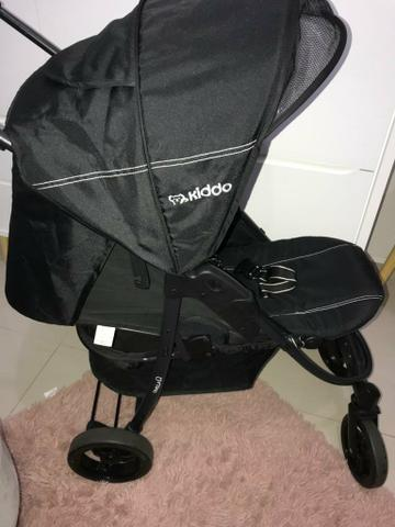 NOVO: Carrinho de bebê e Bebê Conforto - KIDDO