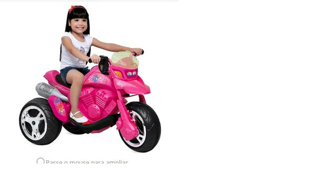 Moto Eletrica Infantil Bandeirantes