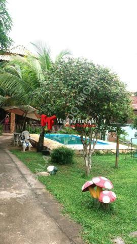 4028 - Casa de 4 quartos, área gourmet e fogão a lenha, total conforto Unamar - Foto 18