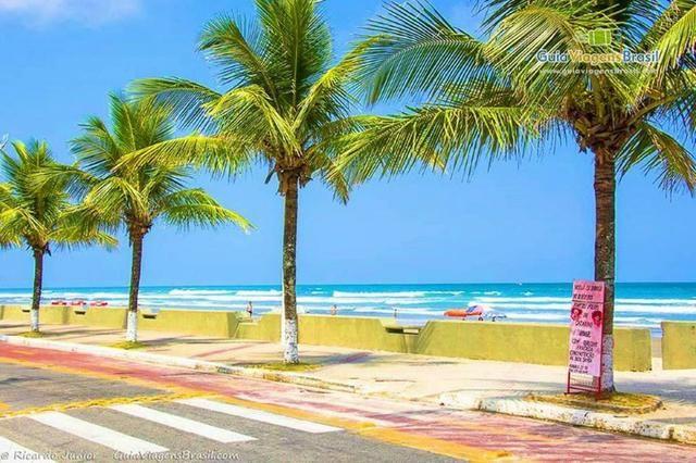 Apartamento Mongaguá - Em frente a Praia - Pé na areia