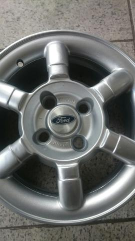Rodas Ford Ka Fiesta Escort aro 14 lindos modelos - Foto 5