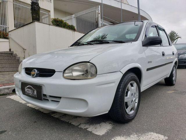 Chevrolet Corsa classic 1.0 completo vendo troco e financio R$ 18.900,00 - Foto 11