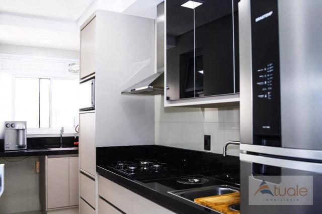 Apartamento com 2 dormitórios para alugar, 69 m² por R$ 2.400,00/mês - Jardim Chapadão - C