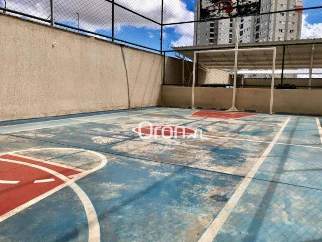 Apartamento com 2 dormitórios à venda, 51 m² por R$ 170.000,00 - Vila Rosa - Goiânia/GO - Foto 18