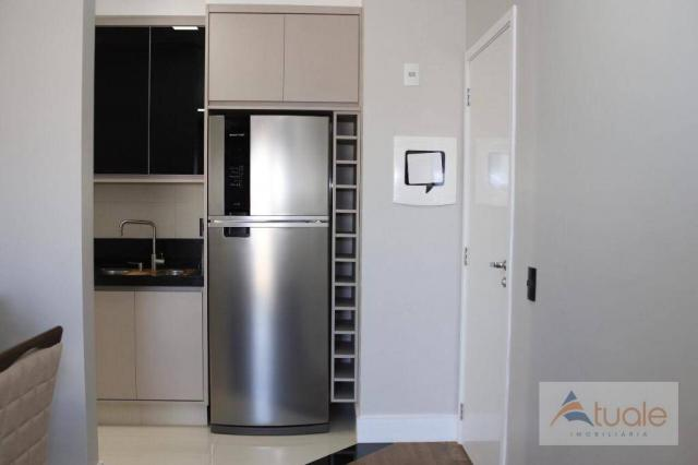 Apartamento com 2 dormitórios para alugar, 69 m² por R$ 2.400,00/mês - Jardim Chapadão - C - Foto 13