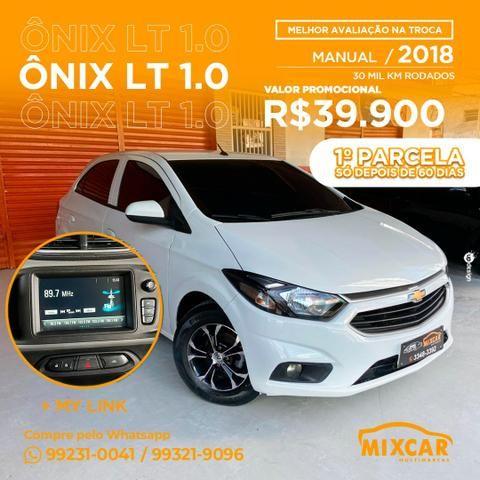 OFERTA! Onix LT 1.0 2018! NOVO!!!!