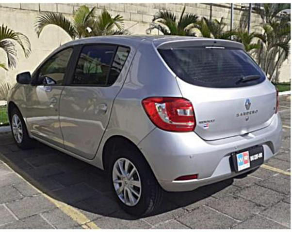 Sandero 2015/2016 1.0 expression 16v flex 4p manual - Foto 4