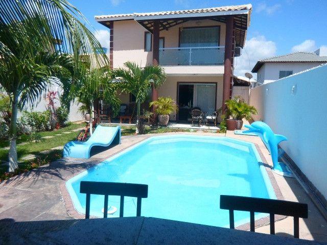FZ132 - Casa em Arembepe - 04 quartos com piscina