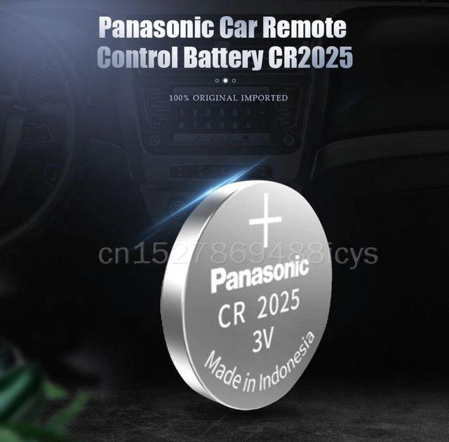 Bateria Panasonic CR2025 lítio 3v 150mAh original preços especiais atacado - Foto 4