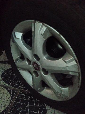 "Trocas rodas originais Fiat palio trekking aro 14"" - Foto 3"