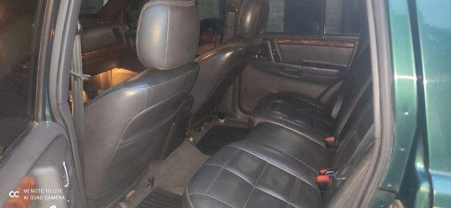 Vendo Carro GCherokee Limited  5.2 4X4 com GNV - Foto 9