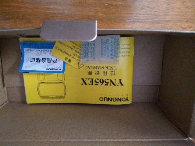 Flash Externo Yongnuo com a capa original - Foto 5