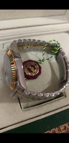 Relógio Rolex Oyster Perpetual Datejust a prova d'água Completo - Foto 2